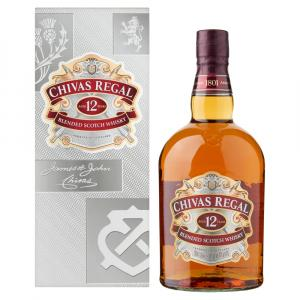 Chivas Regal 12 Anys Irrellenable 1L