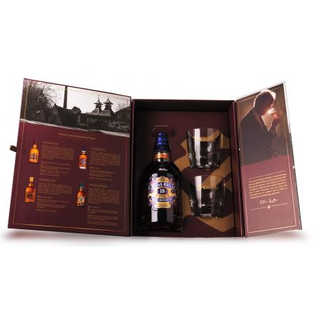 Chivas Regal 18 Years Coffret Dégustation 2 Verres