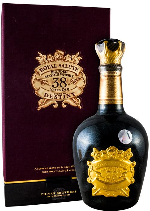 chivas regal 38 year old stone of destiny 50cl whisky