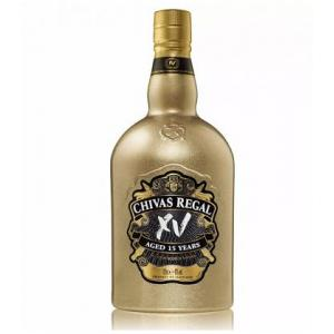 Chivas Regal XV Gold Botella