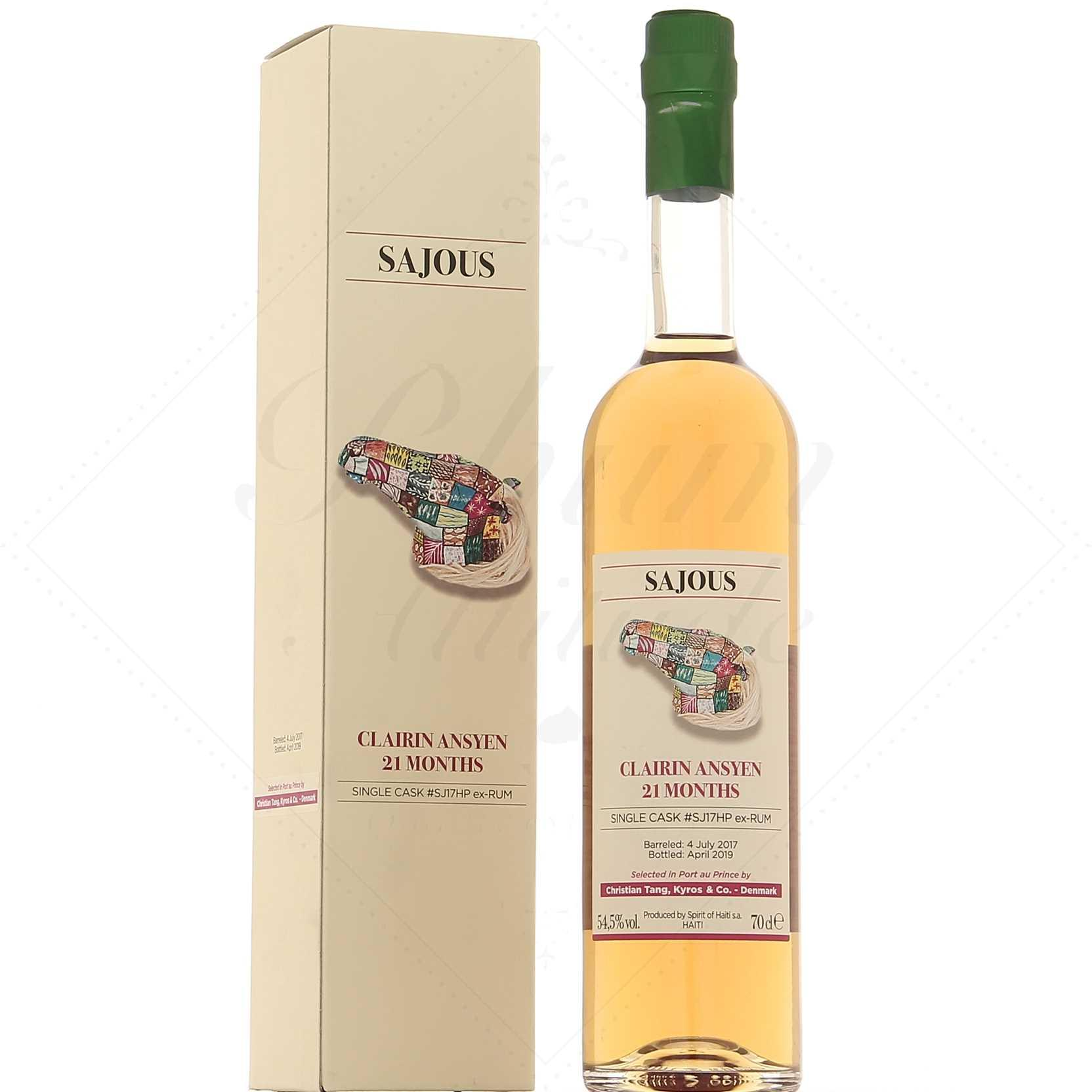 Buy Clairin 21 Mois Ansyen Sajous Fut Sj17hp Price And Reviews At Drinks Co