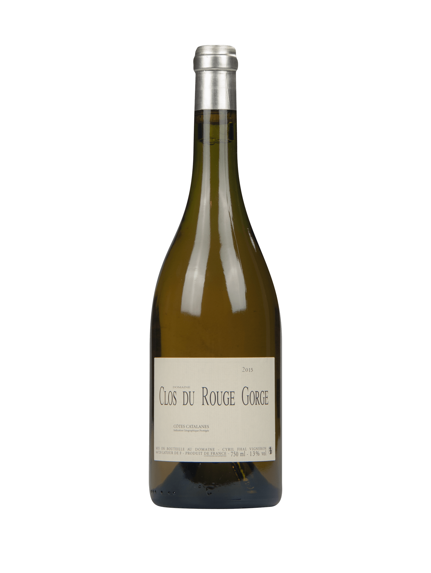 clos du gorge blanc 2014 vin blanc. Black Bedroom Furniture Sets. Home Design Ideas