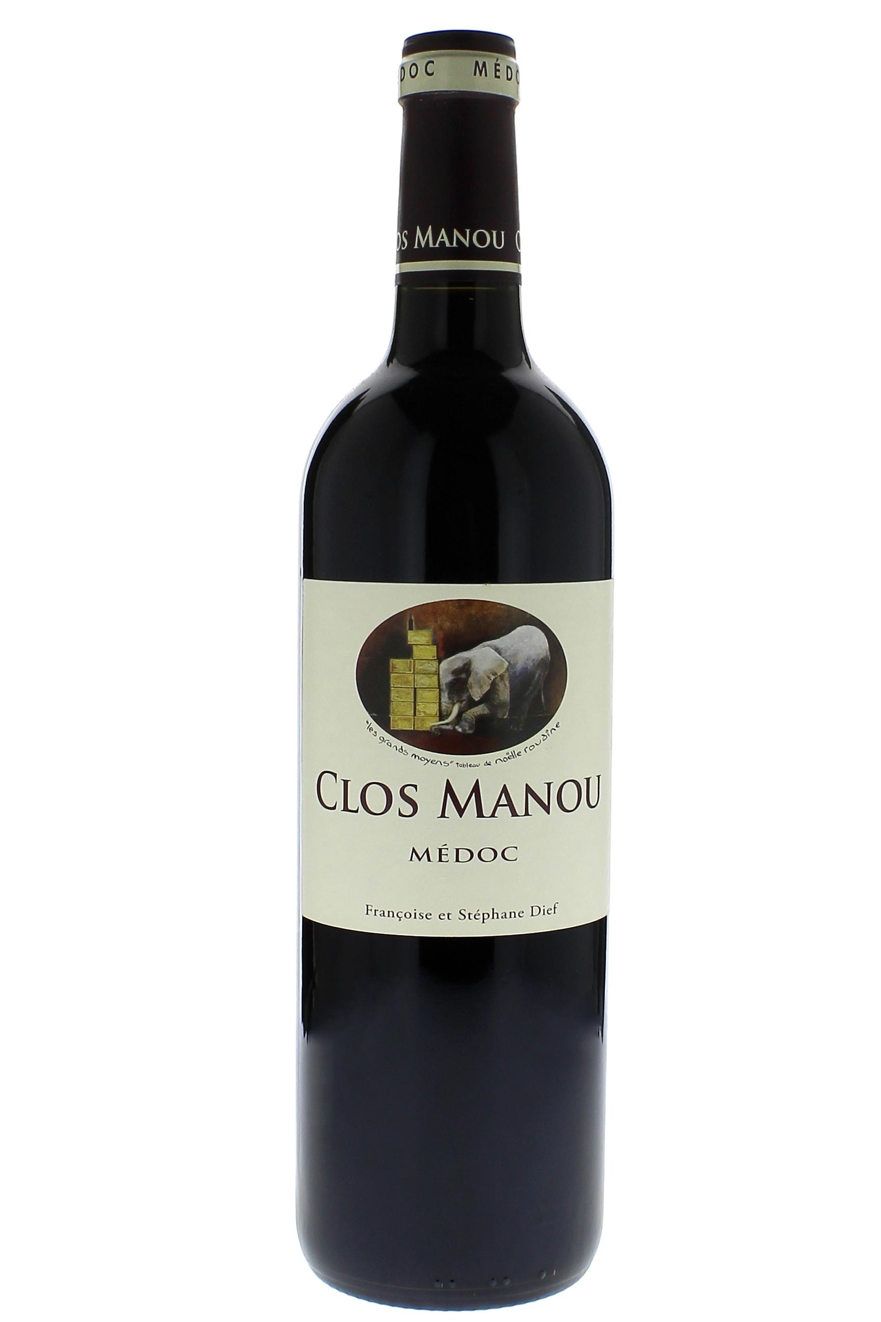 clos manou magnum 2014 vin rouge. Black Bedroom Furniture Sets. Home Design Ideas