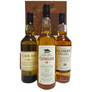 Clynelish The Classic Malts Collection Costal 3 X Flessen 200ml