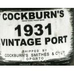 Cockburns Vintage 1931