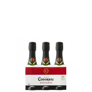 Codorniu Benjamines (Pack 3 Bot. 200ml