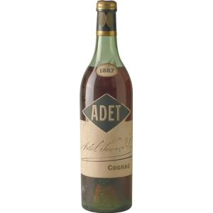 1887 Cognac Adet Seward & Co Old Bottling