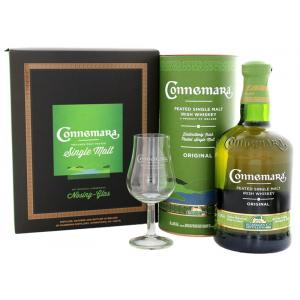 Connmara Peated Single Malt + Nosing Glas