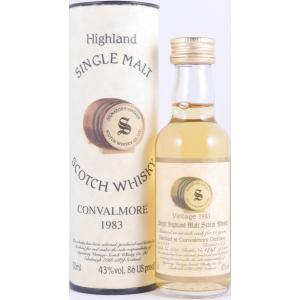 1983 Convalmore 14 Years Oak Cask 1639 Miniature Speyside Single Malt Signatory Vintage 50ml