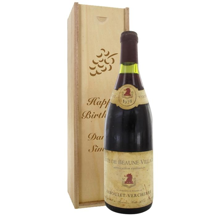 C te de beaune villages jaboulet 1978 vino tinto for Tuile cote de beaune