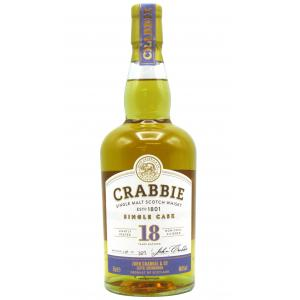 Crabbie Single Cask 18 Year old