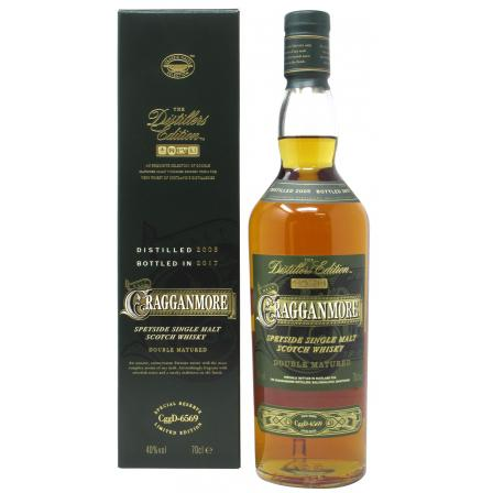 Cragganmore Distillers Edition 2017 12 Year old 2005