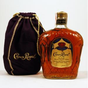 Crown Royal in case 1L