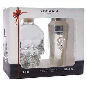 Crystal Head Gift Pack + Barman Shaker