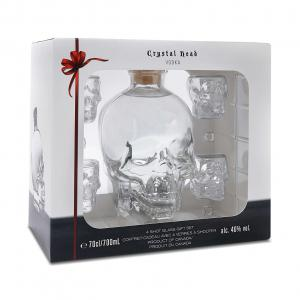 Crystal Head Vodka Gift Pack Shot-Gläsern