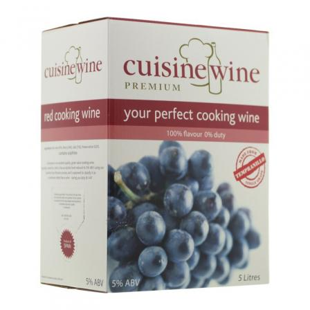 Cuisinewine White Bag in Box 5L