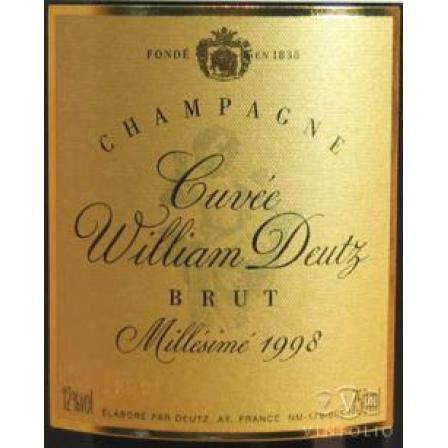 1999 Cuvée William Deutz