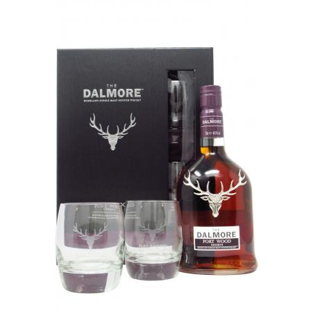 Dalmore Port Wood Reserve Glas Gift Pack