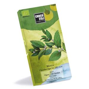 Dark Chocolate 70% Cocoa With Mint 70g