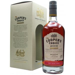Deanston Coopers Choice Single Cask Port Finish 11 Year old 2009