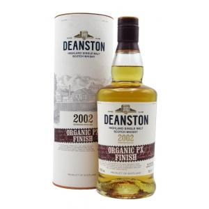 Deanston Limited Release Organic Pedro Ximenez Finish 17 Year old 2002