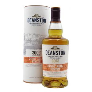 Deanston Limited Release Pinot Noir Cask Finish 17 Year old 2002