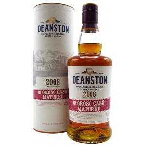 Deanston Oloroso Cask Matured 12 Year old 2008
