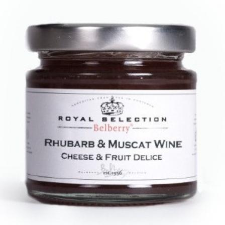 Délices Fromage Rhubarbe et Muscat 130g