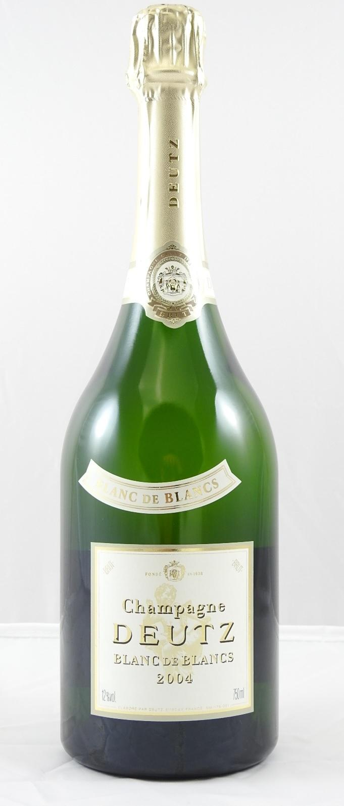 Buy deutz blanc de blancs 2004 at uvinum for Belle jardin blanc de blancs