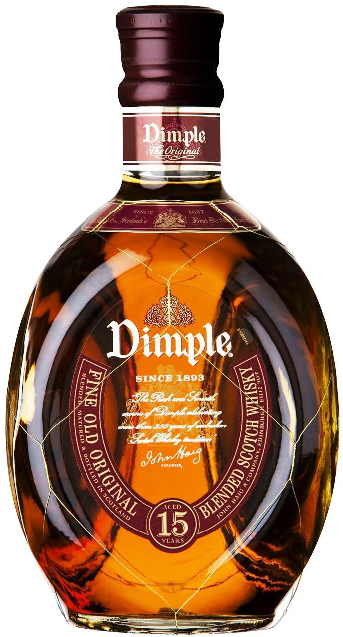 Buy Dimple Pinch Red Ceramic Decanter 15 Year Old Online: Buy Dimple 15 Year Old 1L At Uvinum