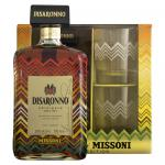 Disaronno Amaretto Wears Missoni Limited Edition + Glass