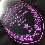 Dom Perignon Vintage Luminous Label Rosé 2004