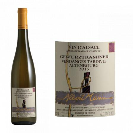 Domaine Albert Mann Gewurztraminer Altenbourg Vendanges Tardives 2015