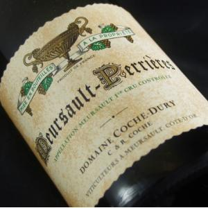 Domaine Coche Dury Meursault Perrieres 2010