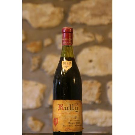 Domaine Eugene Peron Rully 1978