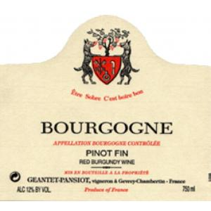 Domaine Geantet-Pansiot Bourgogne Rouge 2005