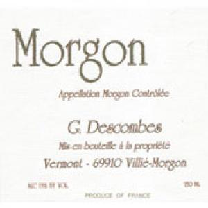 Domaine Georges Descombes Morgon 2007