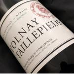 Domaine Marquis D'Angerville Volnay Taillepieds 2005