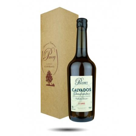 Domaine Pacory Calvados du Domfrontais 5 Year old VSOP