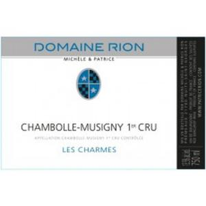 Domaine Patrice Rion Chambolle Musigny Les Charmes 1Er Cru 2012