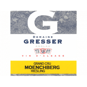 Domaine Remy Gresser Riesling Moenchberg Grand Cru 2012