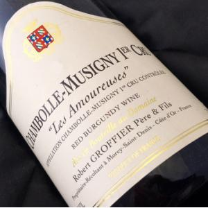 Domaine Robert Groffier Chambolle Musigny Les Amoureuses 1999
