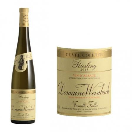 Domaine Weinbach Riesling Cuvée Colette 2018