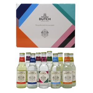 Double Dutch 10 X Bottles Of Premium Flavoured Mixers 200ml