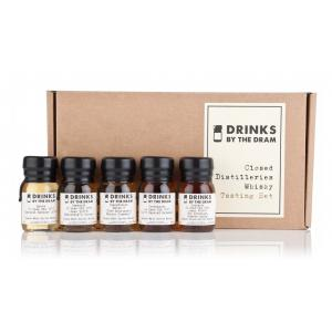 Drinks By The Dram Closed Distilleries Tasting Set 300ml