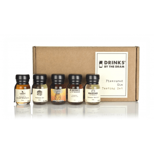 Drinks By The Dram Flavoured Gin Tasting Set Gin 300ml