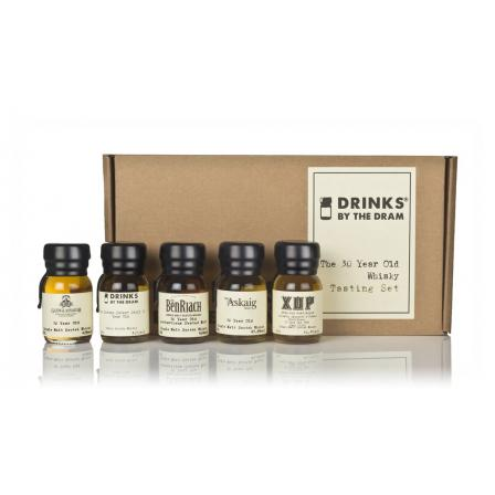 Drinks By The Dram The 30 Year old Tasting Set 300ml