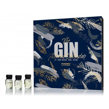 Drinks By The Dram The Gin Advent Calendar Edition 300ml 2019