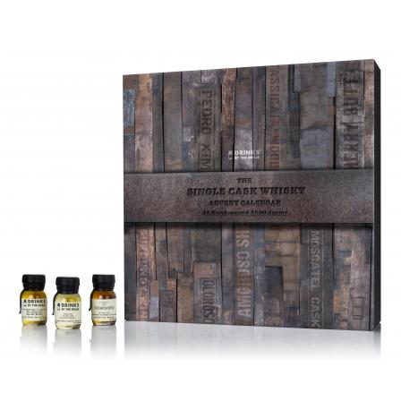 Drinks By The Dram The Single Cask Advent Calendar Edition 300ml 2019