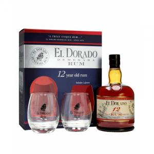 El Dorado 12 Years + 2 Glasses